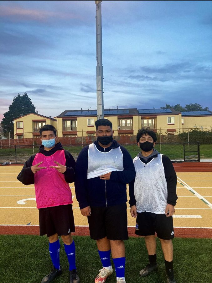 What the boys soccer team has been doing during this pandemic