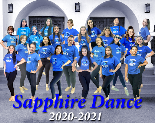 LHS Sapphire Dance Team carries on through the disappointments and challenges of distance learning