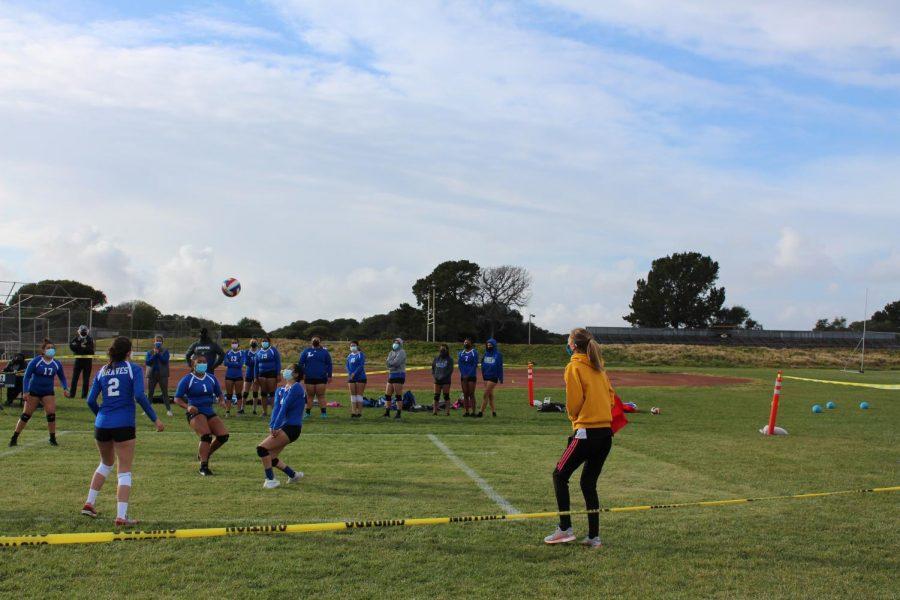 Girls+Volleyball+Triumphs+Onward