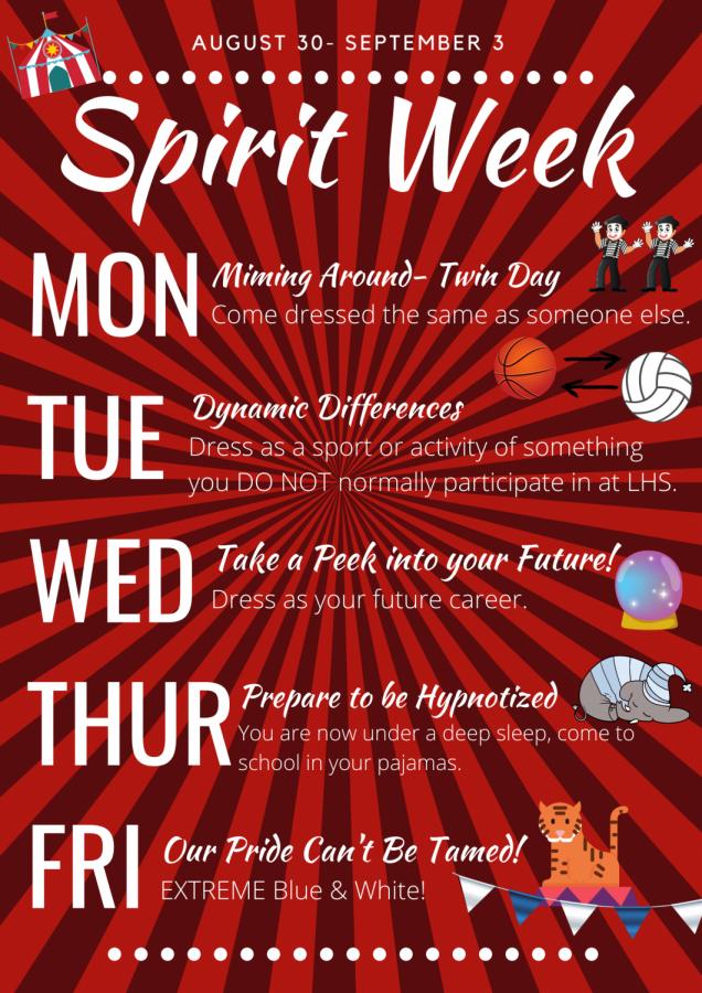 Homecoming/Big Game Spirit Week